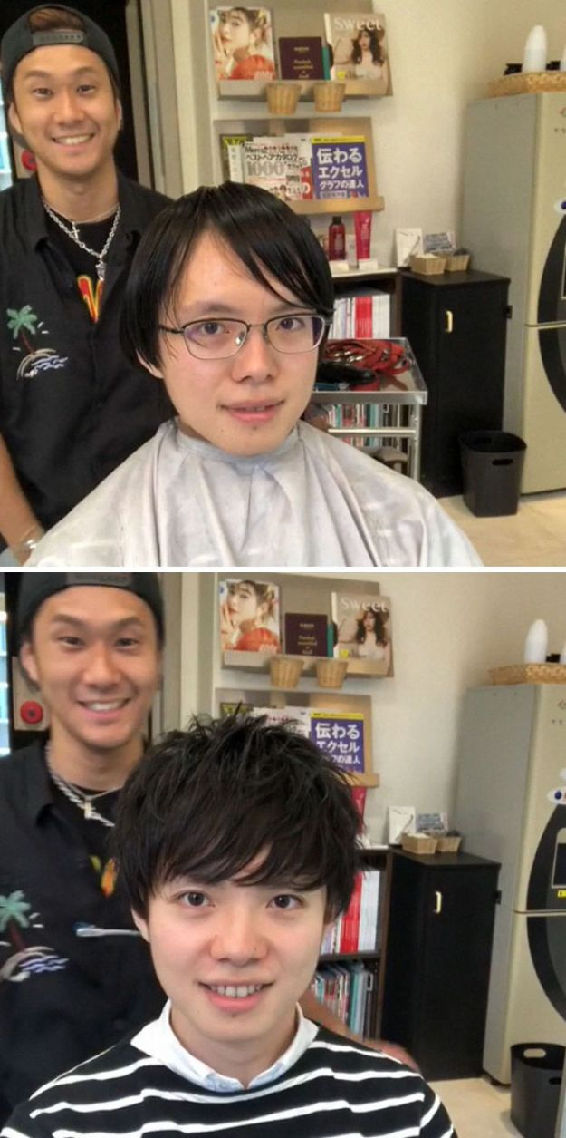 5bfd557188c6a-man-hairstyle-transformations-shou-otsuki-japan-5bfbb71445226__700 This Japanese Barber Shows What A Big Difference A Great Haircut Can Make Random
