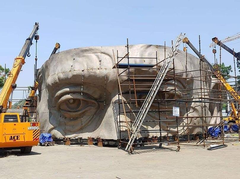 statue of unity revealed india 10 - Estátua mais alta do mundo é 6 vezes maior do que o Cristo Redentor