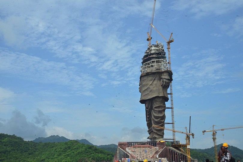 statue of unity revealed india 11 - Estátua mais alta do mundo é 6 vezes maior do que o Cristo Redentor