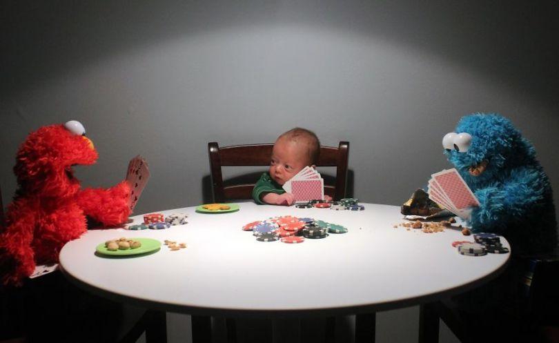 """5c497b39a9643 Ryan4 5c4756380a2b5  880 - Pai fez seu bebê prematuro fazer """"coisas de homem"""". É hilário!"""