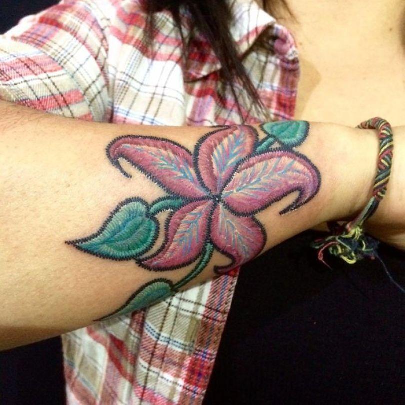 """5cab03061c2b2 BclPphMnFAX png  700 - 30 tatuagens em estilo """"bordado"""" são lindas e intrigantes"""