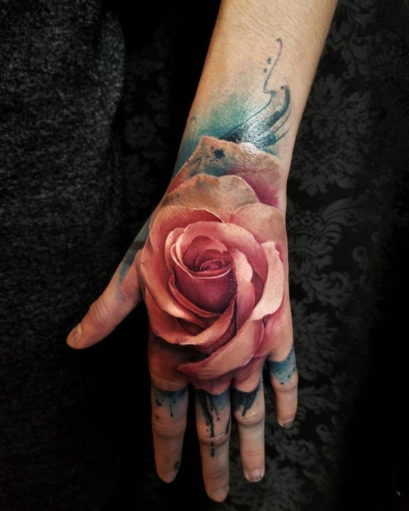 5caef3ba4c14b 3d tattoo ideas 19 5ca1d83c1be10  700 - 56  Tatuagens em 3D que irão bagunçar sua mente