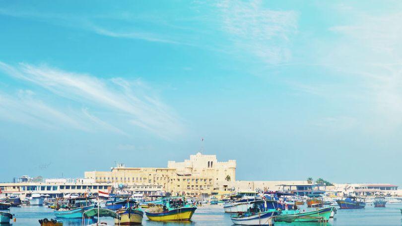 5ccff20ec6dad 04 Seven Wonders Alexandria BEFORE 5cc7a5da0382a png  880 - 7 Imagens Impressionantes das Maravilhas do Mundo Antigo em seu auge