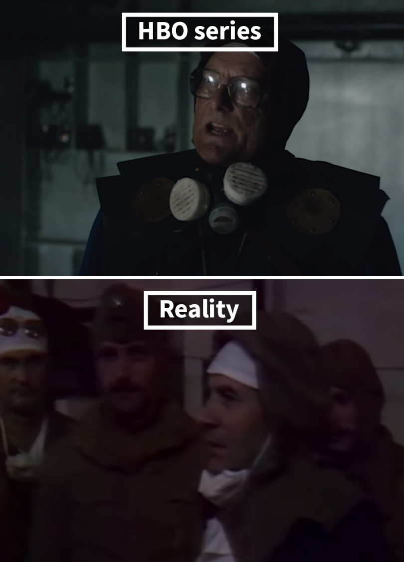 5d073e300e736 side by side comparison hbo chernobyl with actual footage 19 5d024b38df02d  700 - Fotos de Chernobyl da HBO em comparação a fotos reais