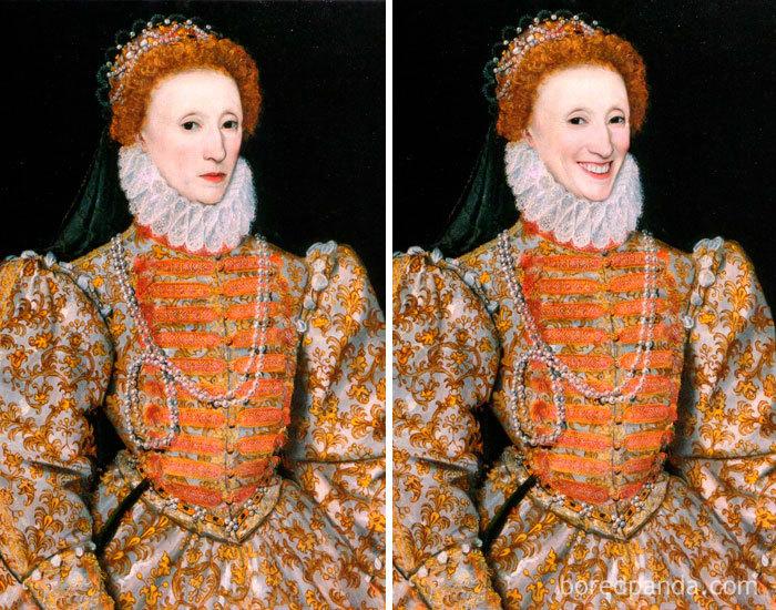 5d7602edc4dc1 famous paintings portraits faceapp 36 5d72251d6f708  700 - Com um sorriso é sempre melhor