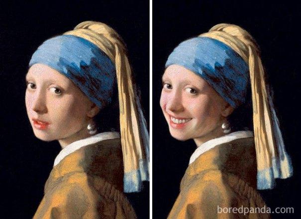 5d7602ee20b67 famous paintings portraits faceapp 42 5d724591b022e  700 - Com um sorriso é sempre melhor