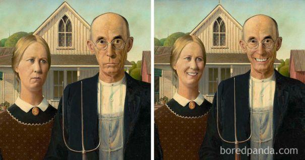 5d7602ee4341b famous paintings portraits faceapp 3 5d724580b84e7  700 - Com um sorriso é sempre melhor