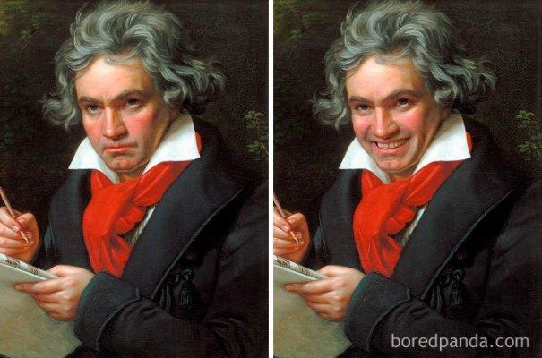 5d7602eed3049 famous paintings portraits faceapp 8 5d7245bc704b7  700 - Com um sorriso é sempre melhor