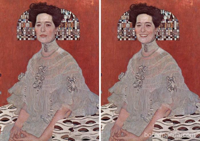 5d7602efeebdc famous paintings portraits faceapp 13 5d721f3a34774  700 - Com um sorriso é sempre melhor