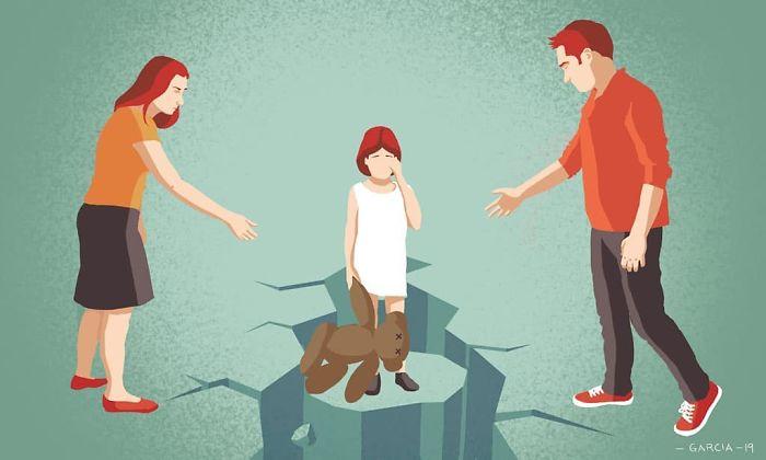 5d8dbd1dc1a22 40 Shocking Illustrations that show whats Wrong with our Society 5d8b0cd92862c  700 - 35 ilustrações instigantes que mostram o que há de errado com nossa sociedade
