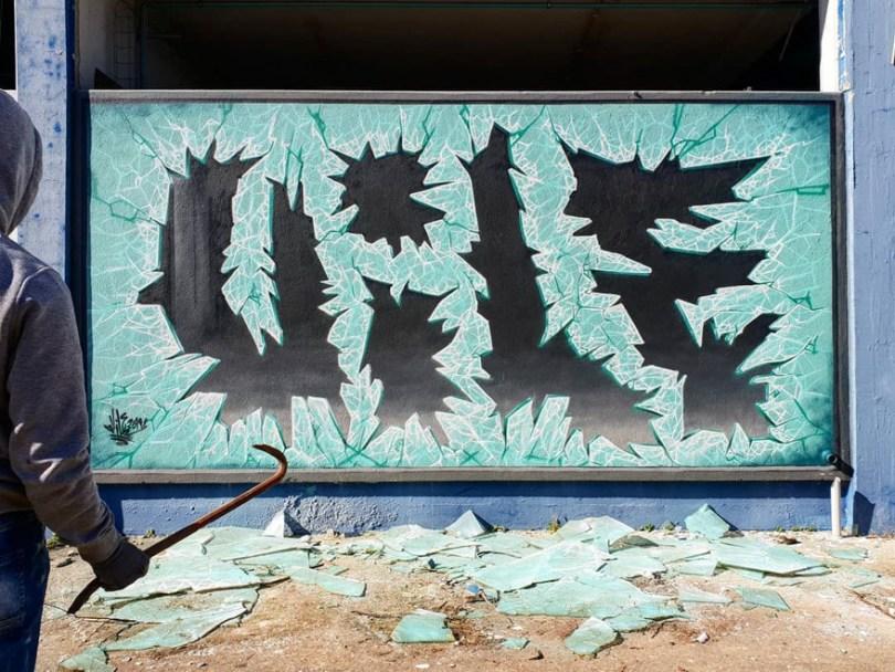 amazing transparent graffiti vile 10 - Português faz as paredes parecerem transparentes usando nada além de tinta Spray