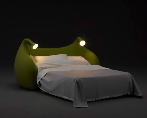 5d9ee096e4fd8 beds bedrooms with threatening auras 64 5d9dde7cb051d  700 - 30 camas bizarras que só precisavam ser compartilhadas