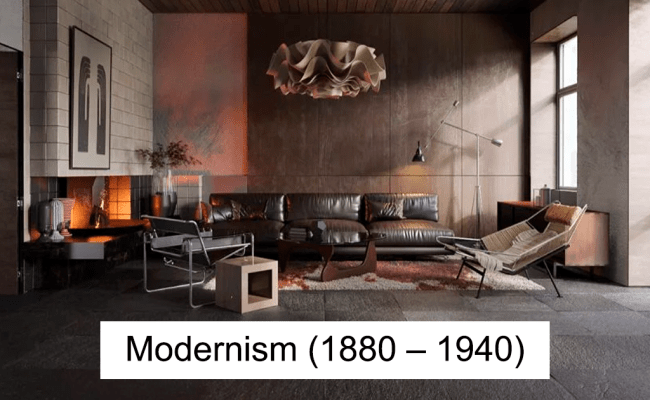 Designers Show How Much Interior Design Has Changed Over