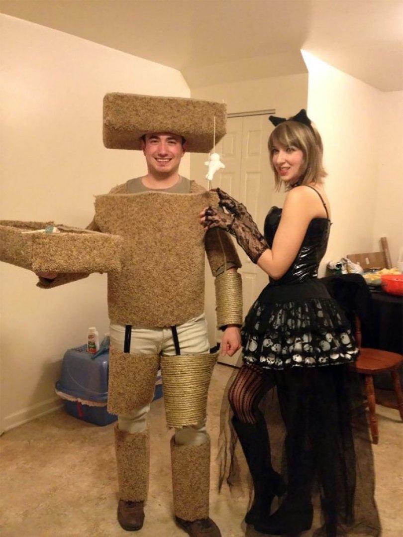 5dba9815d8a14 halloween couple costume ideas 400 5db980b472452  700 - Casais que apavoraram em suas fantasias para o Halloween