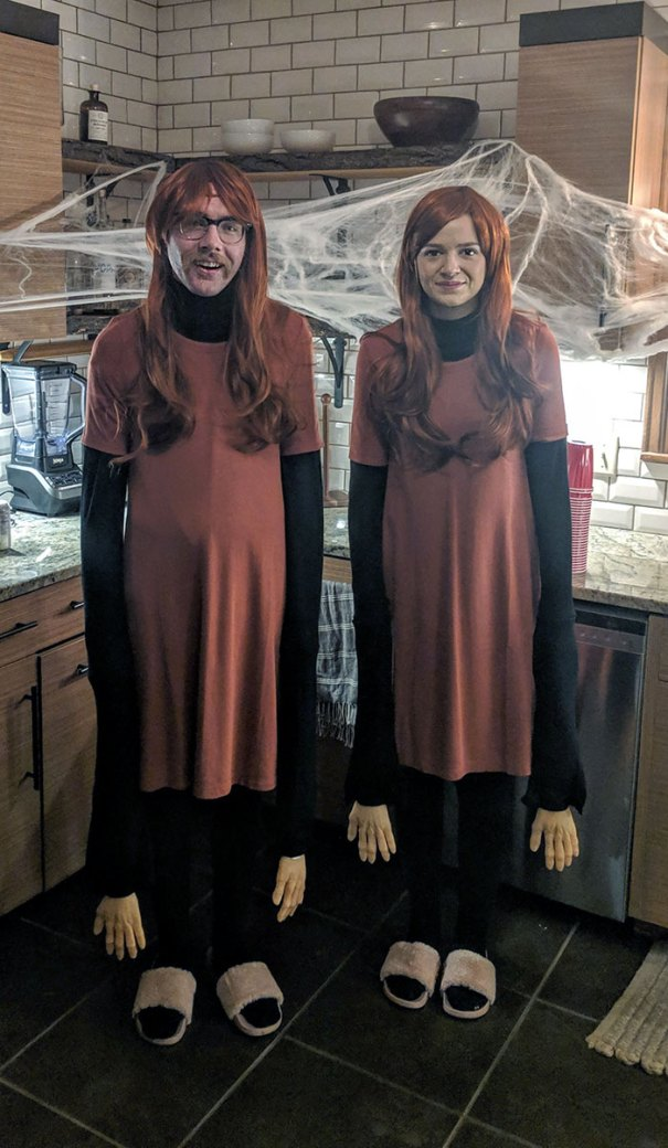 5dba9816e0604 Halloween Couple Costume Ideas 235 5daeac68ce2a6  700 - Casais que apavoraram em suas fantasias para o Halloween