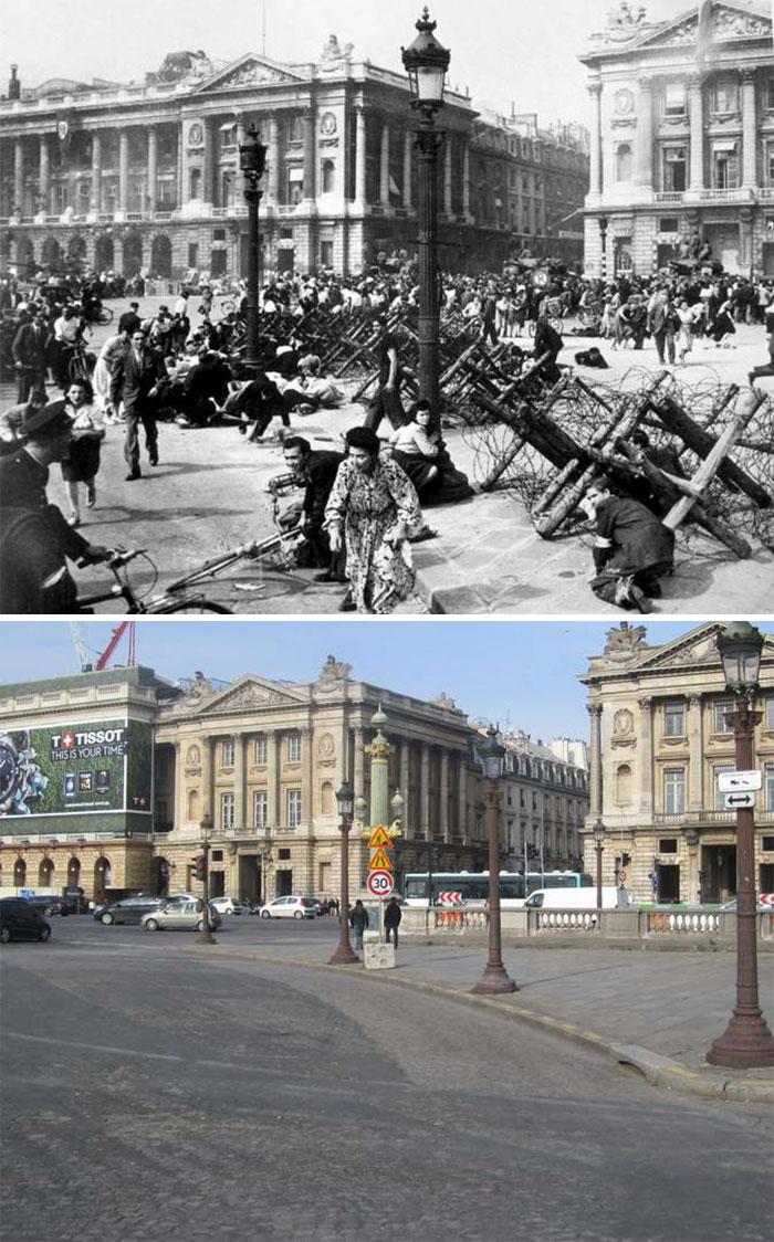 5dc5225b2f77d Europe during World War 2 and Today our top 22 Now And Then images 5dbffd0da8456  700 - 30 fotos fabulosas durante as Guerras e como são esses lugares hoje