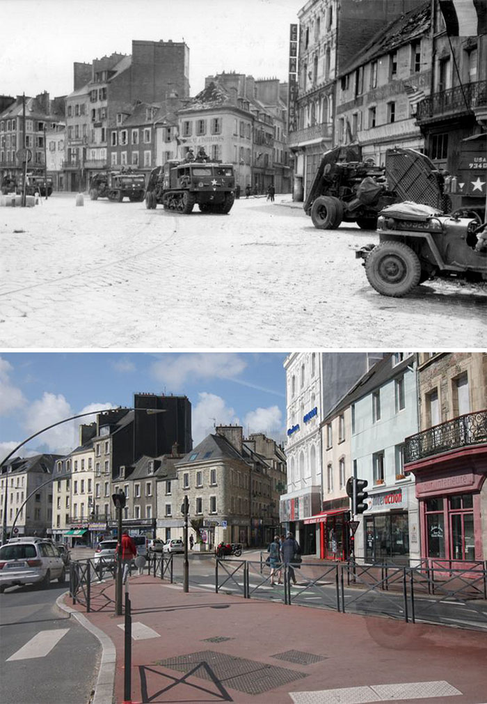 5dc5225b7ebe0 Europe during World War 2 and Today our top 22 Now And Then images 5dbffcef8c640  700 - 30 fotos fabulosas durante as Guerras e como são esses lugares hoje
