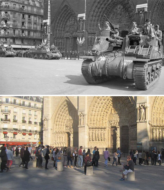 5dc5225c56ecc Europe during World War 2 and Today our top 22 Now And Then images 5dbffd034c21d  700 - 30 fotos fabulosas durante as Guerras e como são esses lugares hoje