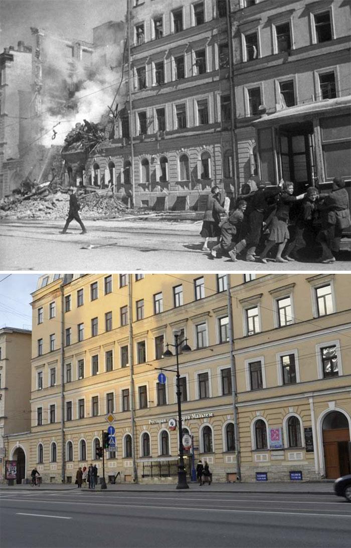 5dc5225fec5e4 Europe during World War 2 and Today our top 22 Now And Then images 5dbffd21d3ecd  700 - 30 fotos fabulosas durante as Guerras e como são esses lugares hoje