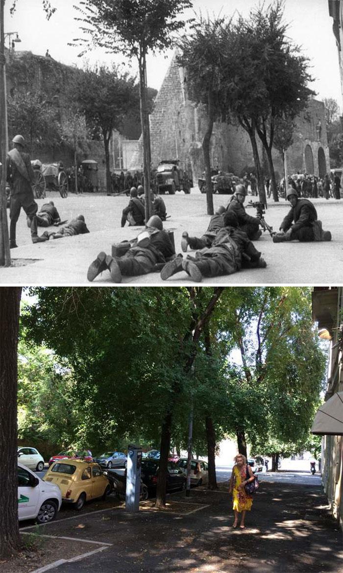 5dc52261a6072 Europe during World War 2 and Today our top 22 Now And Then images 5dbffcebae186  700 - 30 fotos fabulosas durante as Guerras e como são esses lugares hoje