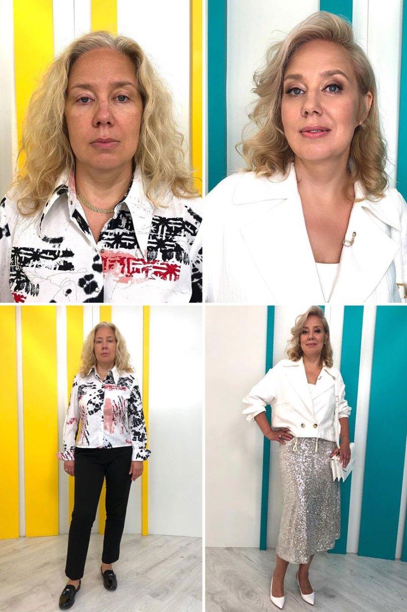 """5dc52268ab6a3 before after transformations stylist alexander rogov 6 5dc3e529794d2  880 - Resultado impressionante de pessoas """"repaginadas"""" por estilista russo"""