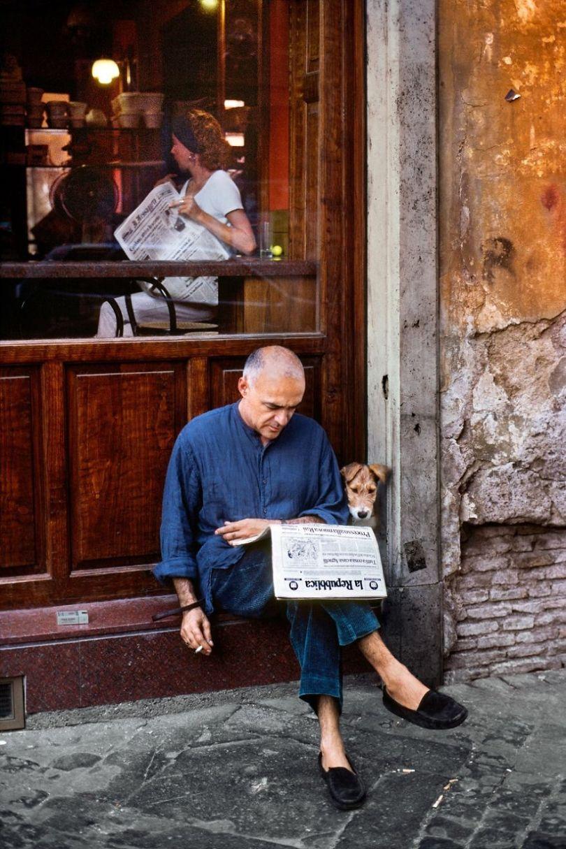 5dce5d22a67b6 x 5dc9e32a26585  880 - 40 fotografias de Steve McCurry que exploram a relação entre humanos e animais