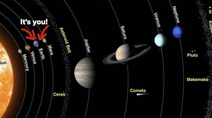 5dee05b78fad8 earth compared to other objects in universe 2 5de7c4f642973  700 - 27 fotos que ajudarão você a entender um pouco melhor o tamanho da Terra