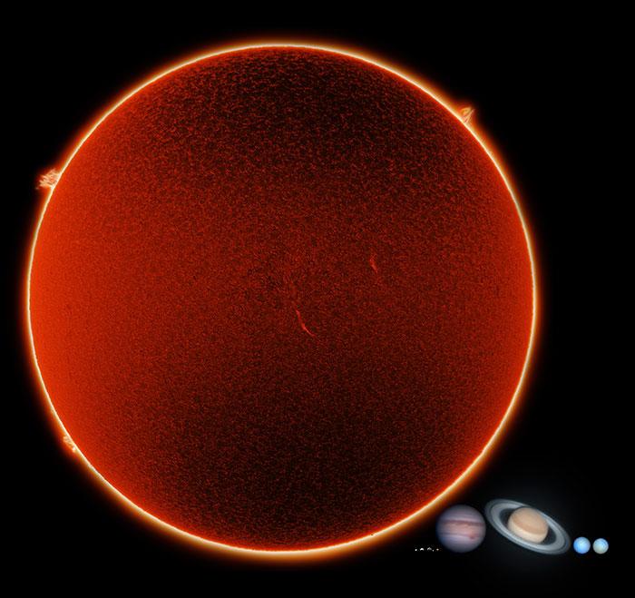 5dee05b94b9ca earth compared to other objects in universe 5de8f288146b1  700 - 27 fotos que ajudarão você a entender um pouco melhor o tamanho da Terra