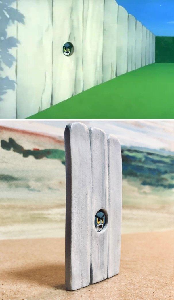 5e05b9c3c0fbb funny tom and jerry sculpture taku inoue 57 5e047b64ed2f2  700 - 27 esculturas hilárias inspiradas nos momentos de Tom e Jerry