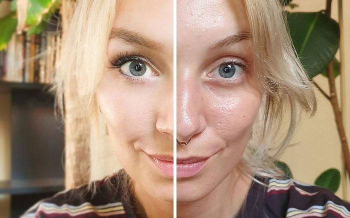 5e1443141bcb2 instagram vs reality kim britt 1 5e0df320bba61  700 - Blogueira compara fotos do Instagram com a realidade