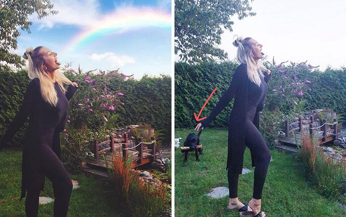 5e14431591856 instagram vs reality kim britt 7 5e0df32c86471  700 - Blogueira compara fotos do Instagram com a realidade