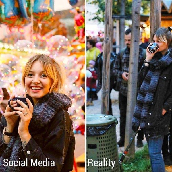 5e1443185f0fa 9 5e13146e64ac2  700 - Blogueira compara fotos do Instagram com a realidade