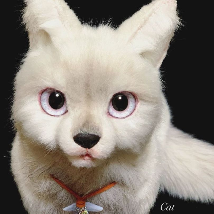 5e577eb81dc16 Japanese artist continues to create bags in the shape of cats and realism impresses 5e54ce5e3ec99  880 - Artista japonês cria Bolsas de gatos que assustam de tanta veracidade