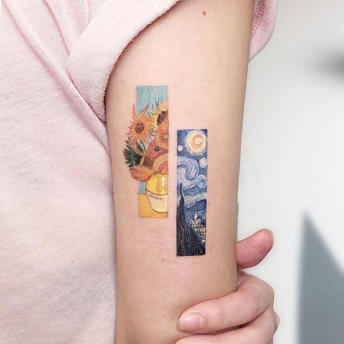 5e689af7bf36f B3byRG3lE W png  700 - Tatuagens minúsculas inspiradas na cultura Pop de tatuador Israelense