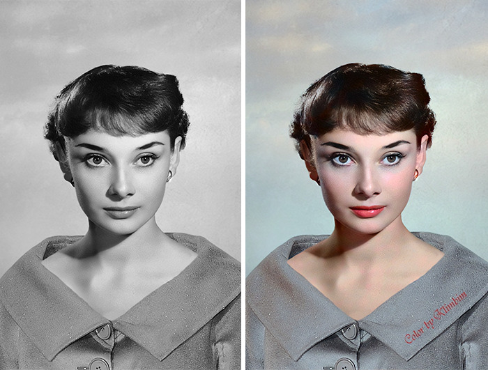 5e69f0bddb063 This Russian artist impresses by giving vivid colors to photos of celebrities from the past 5e679afac9336 png  700 - Fotos antigas coloridas de estrelas clássicas de Hollywood