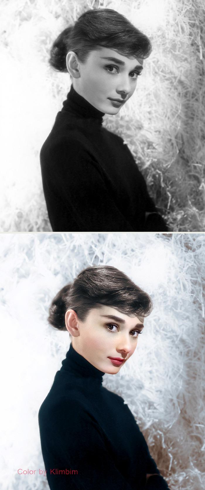 5e69f0be2514e This Russian artist impresses by giving vivid colors to photos of celebrities from the past 5e679b02883c3 png  700 - Fotos antigas coloridas de estrelas clássicas de Hollywood
