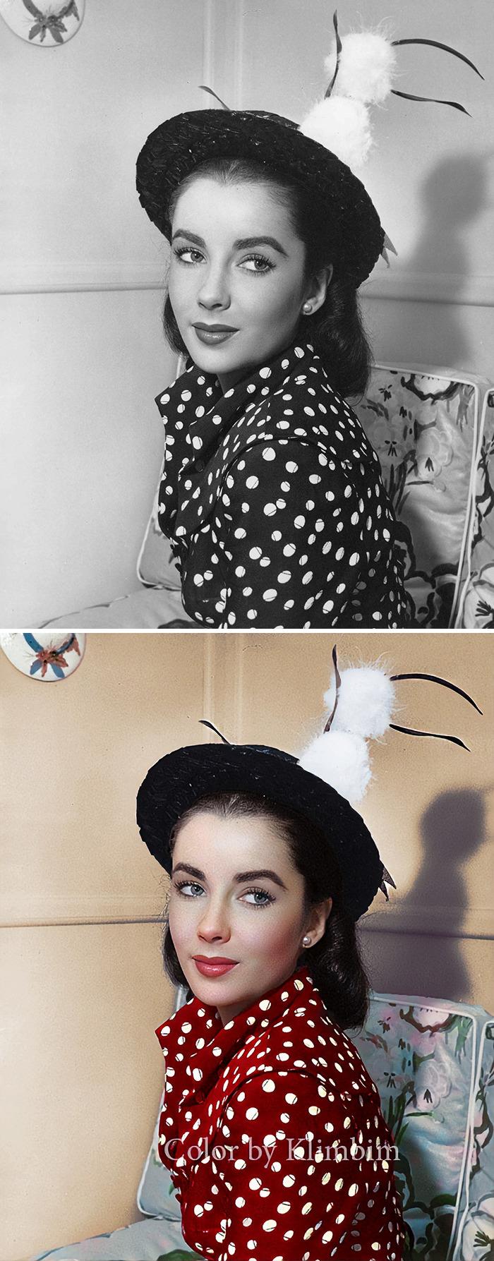 5e69f0bf3f636 This Russian artist impresses by giving vivid colors to photos of celebrities from the past 5e679b1a426ed png  700 - Fotos antigas coloridas de estrelas clássicas de Hollywood