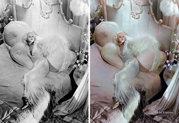 5e69f0c13d1d6 This Russian artist impresses by giving vivid colors to photos of celebrities from the past 5e679b245f9c4 png  700 - Fotos antigas coloridas de estrelas clássicas de Hollywood