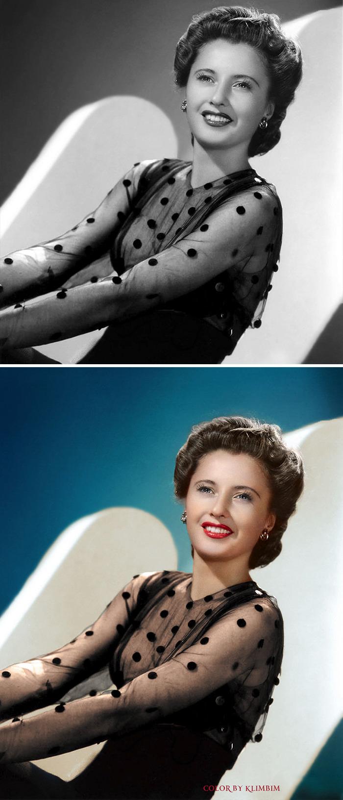 5e69f0c243744 This Russian artist impresses by giving vivid colors to photos of celebrities from the past 5e679b2f0d88a png  700 - Fotos antigas coloridas de estrelas clássicas de Hollywood