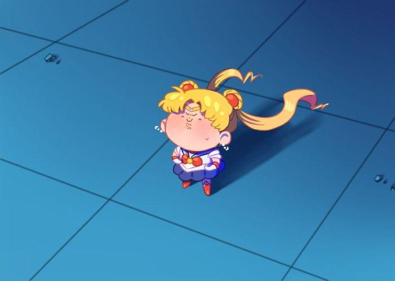 5ec62ac195cdb ggg 5ec46f3617862  700 - Publicações de artistas no Twitter surpreende fãs de Sailor Moon