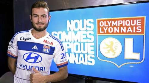 Maillot OL Lucas TOUSART