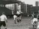 L'Equipe de Belgique en 1946, en train de frapper au but, contre le Luxembourg, le 23/02.