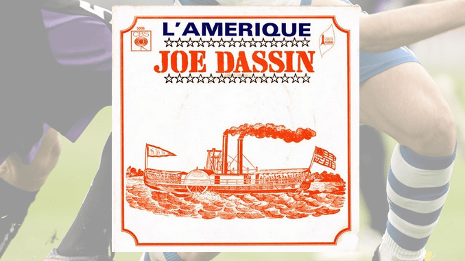 Joe Dassin, l'Amérique et le football