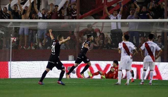 River vs. Lanus, Copa Libertadores