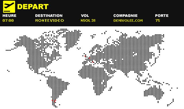 Villes de football, direction Montevideo