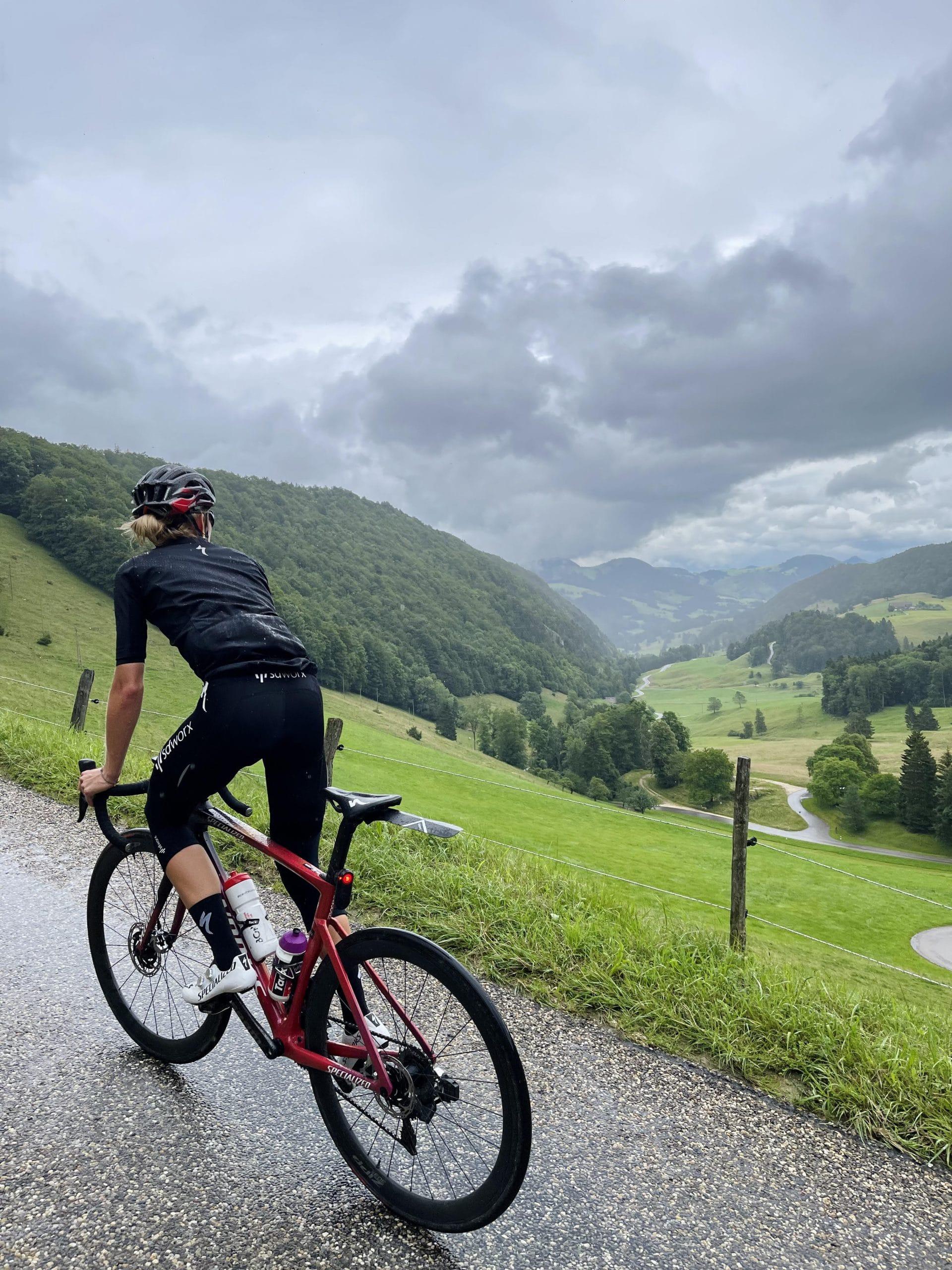 Climbing in Switzerland