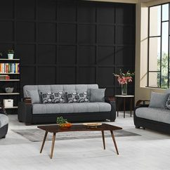 Sofa Convertibles Factory Outlet Beds Demka Furnishing Inc Wholesale Modern Furniture In Dogal Sofabed Stone Black