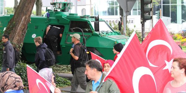 pro-Erdogan demo
