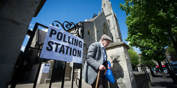 Image result for voting day northern Ireland""