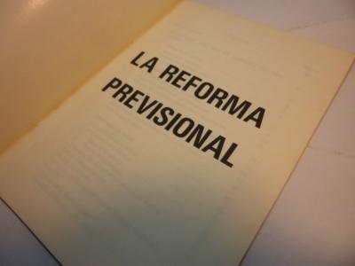 #ReformaLaboral Proyecto de Reforma Previsional